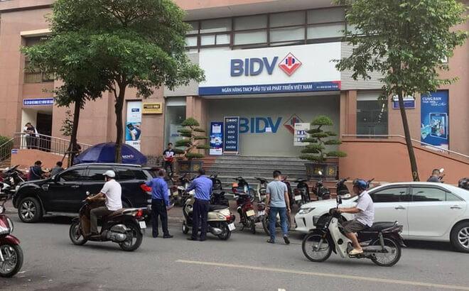 Vụ nổ súng cướp ngân hàng BIDV
